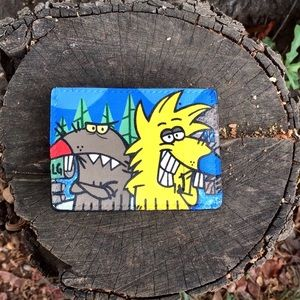 """Angry Beavers"" Card Holder"